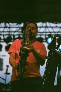 Hip Abduction Sax player Dave Johnson