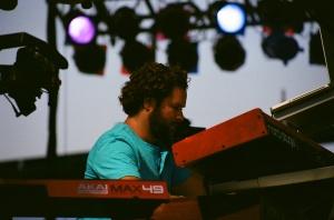 Keyboardist Paul Chlapowski