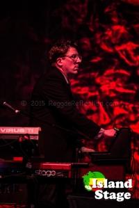 Keyboardist Mikael Jorgensen of Wilco