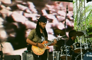 Guitarist Ranoy Gordon