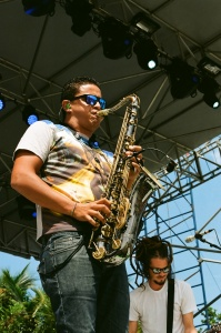 SOJA Sax and Frontman