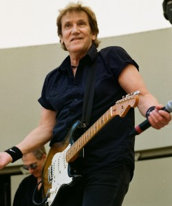 John Cafferty shrugging