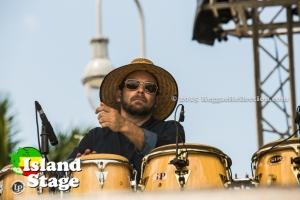 SOJA percussionist Kenny Bongos