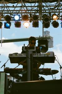 Keyboardist Cayson Peterson