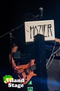 Guitar tech before Hozier Concert at Sunfest