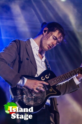 Hozier under the lights at Sunfest