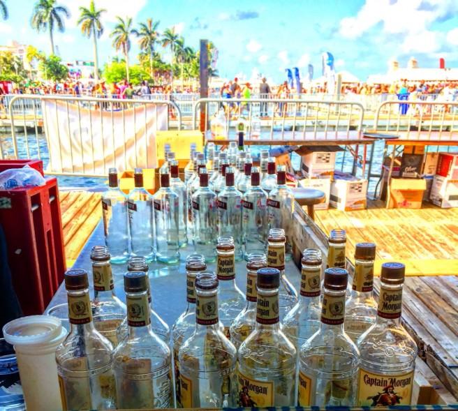 Bottles & Backdrop