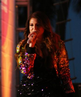 Meghan Trainor Singing 2