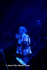 Nick Rhodes in Blue