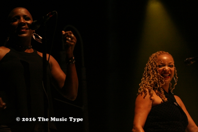 Vocalists Nikita Houston and Sakai Smith