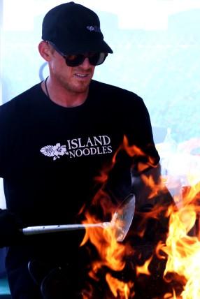 Dane Beachler of Island Noodles