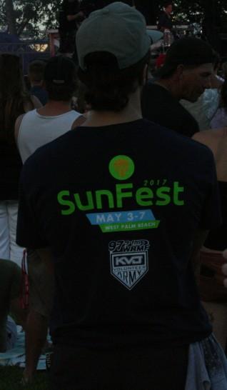 Sunfest Volunteer