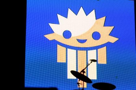 Ziggy Marley Drums & Screen